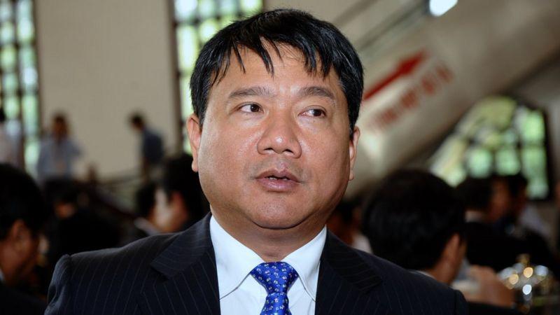 Ủy viên Bộ Chính trị Đinh La Thăng đang là Bí thư Thành ủy TP. HCM