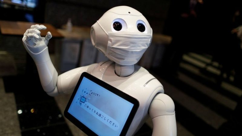 Pepper robot, BBC News