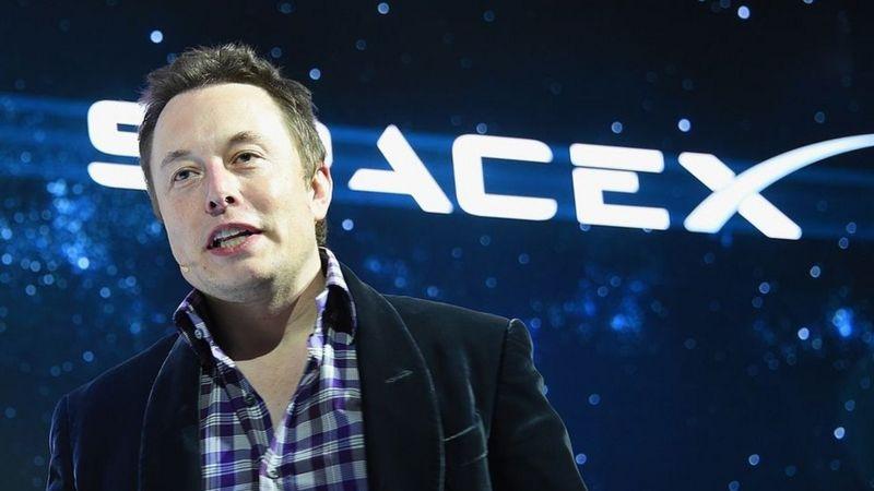 Elon Musk en una conferencia en Silicon Valley