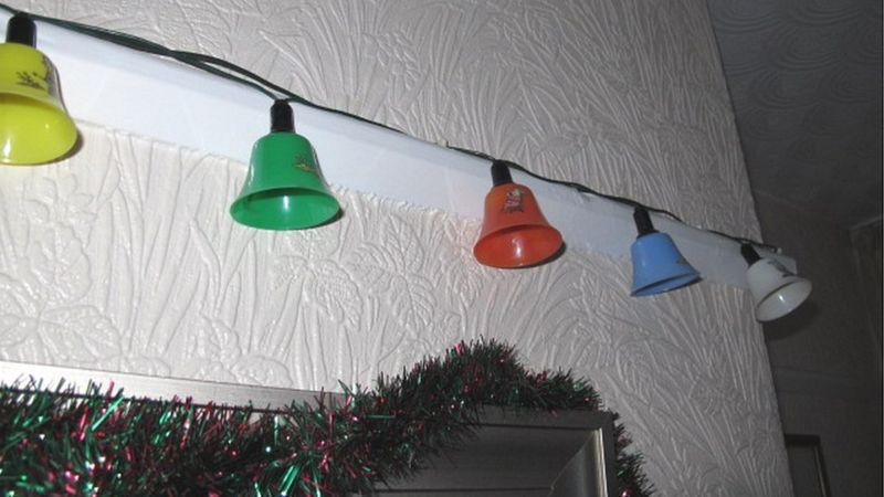 Stephen Taylor's Christmas lights from 1949