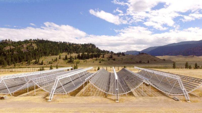 Canada's new radio telescope, CHIME