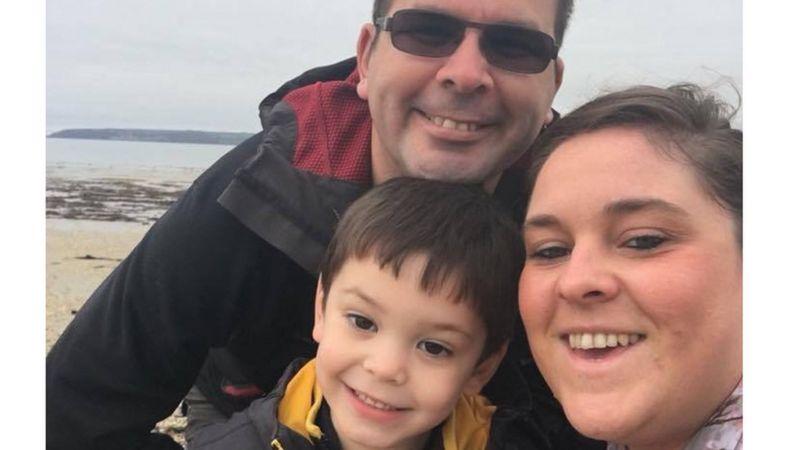 Trevor, Leanne and son Ethan