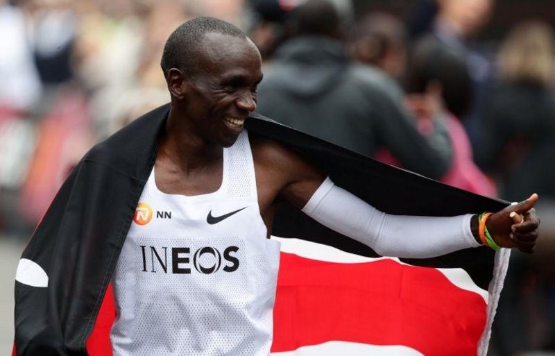 Kenyalı atlet Eliud Kipchoge