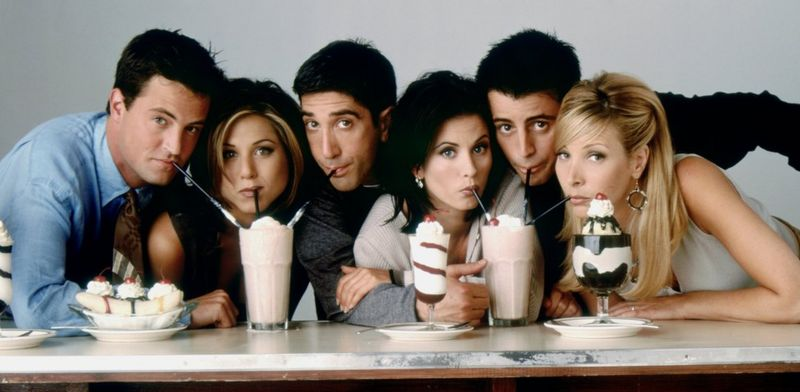 The main cast of Friends