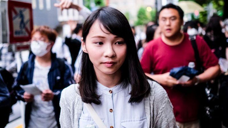 BBC: Agnes Chow: Hong Kong activist hailed as the