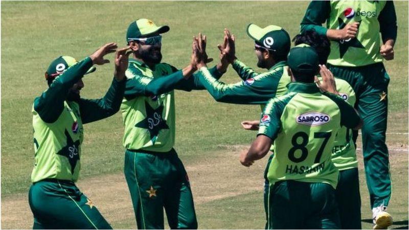 پاکستان بمقابلہ زمبابوے: پاکستان کو جیت کے لیے 119 رنز کا آسان ہدف، پاکستان کا محتاط آغاز
