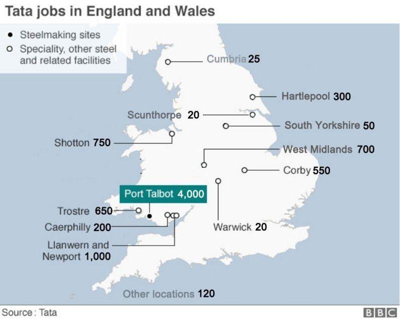 Tata jobs map