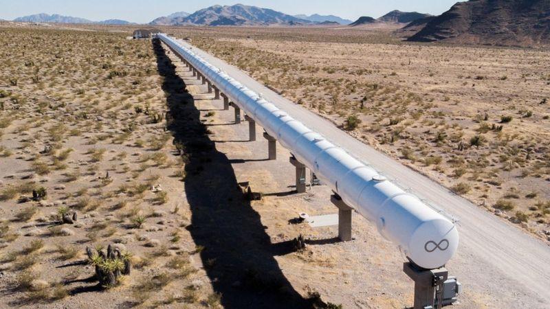 Hyperloop, testovací zařízení