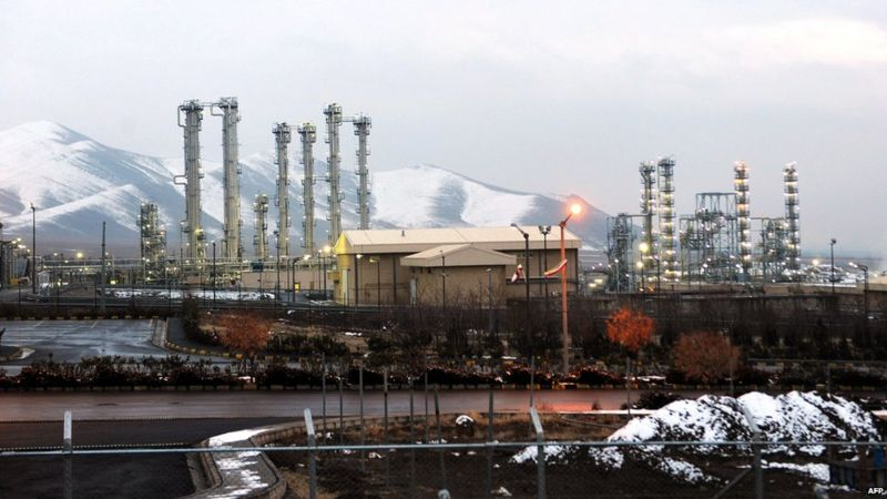 Arak heavy water nuclear facility (2011)