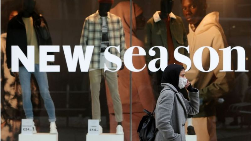 Clothes and food price rises push inflation higher