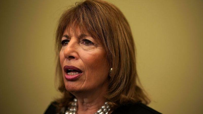 La congresista demócrata por California Jackie Speier.