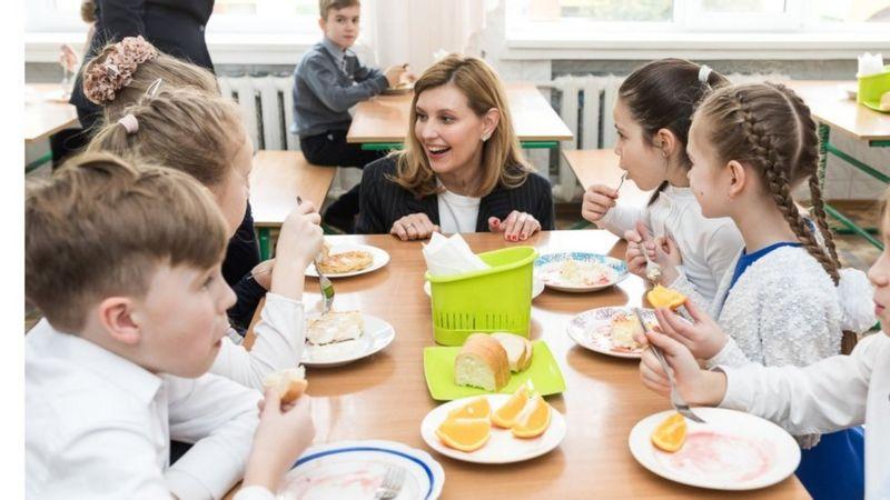 Серед проєктів першої леді - запровадження нової системи харчування в школах