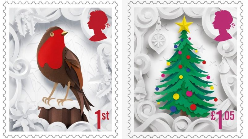 Christmas Stamps.Royal Mail Releases New Stamps For Christmas Cbbc Newsround