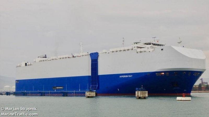 یک کشتی اسرائیلی 'نزدیک امارات هدف قرار گرفته است'