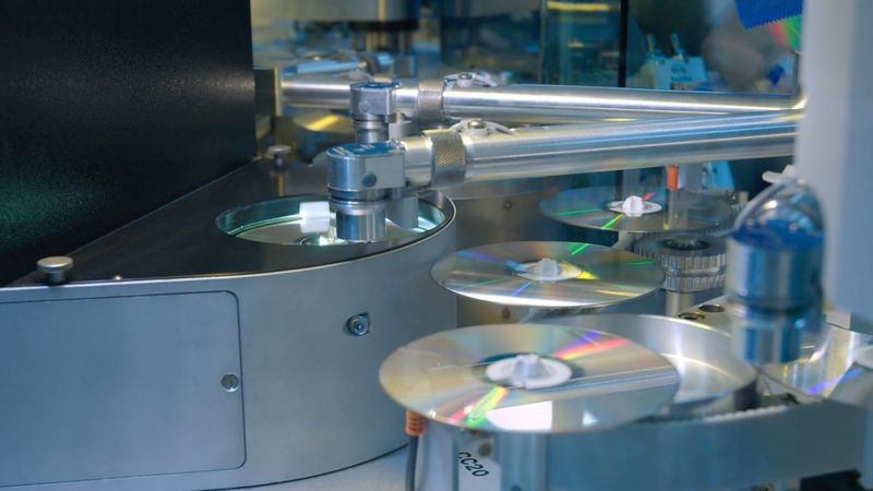 CD in a factory