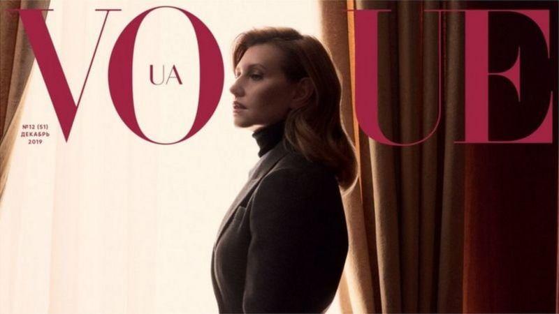 Олена Зеленська стала обличчям українського журналу Vogue у грудні минулого року