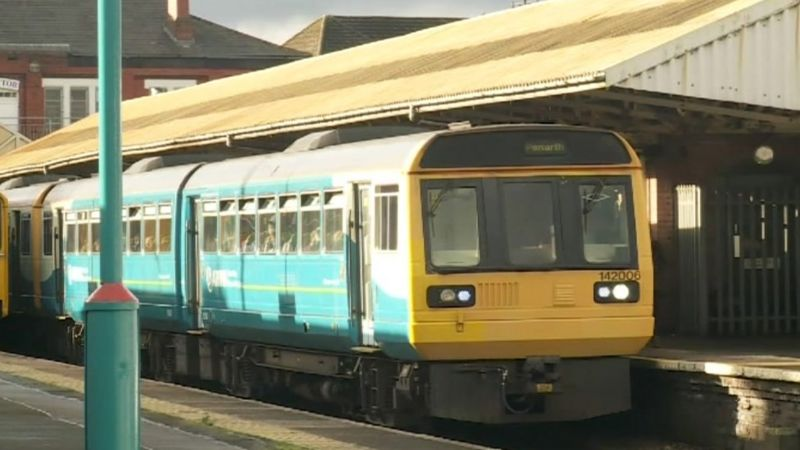 Transport for Wales rail services to be nationalised _93781029_trains