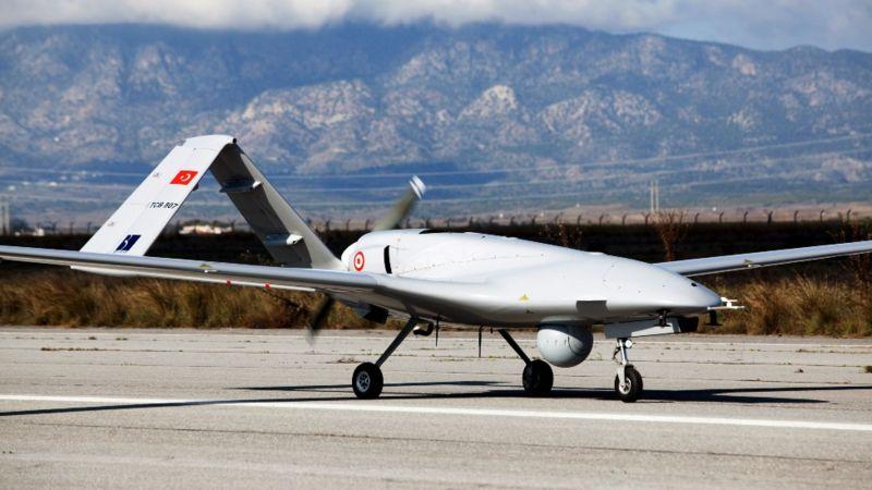 Dron turco.