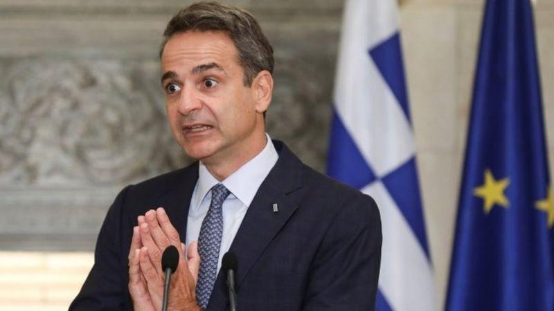 Yunanistan Başbakanı Miçotakis, Türkiye'yle üst düzey görüşmeler yürüttüklerini söyledi