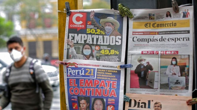 elecciones Perú