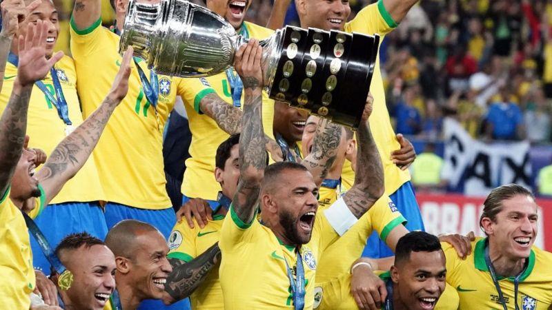 Brasil Campeón de la copa américa 2021