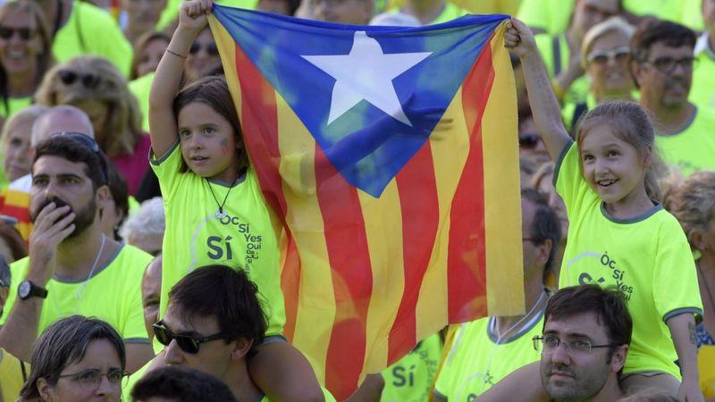 Barcelona independence rally, 11 Sep 17