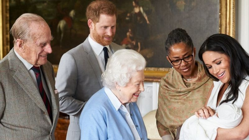 BBC: Prince Harry, Meghan Markle and baby Archie