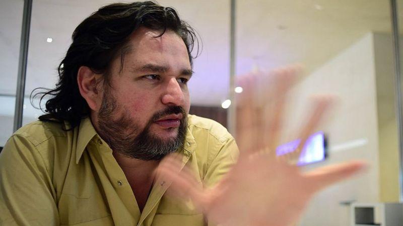 El escritor y periodista Diego Osorno