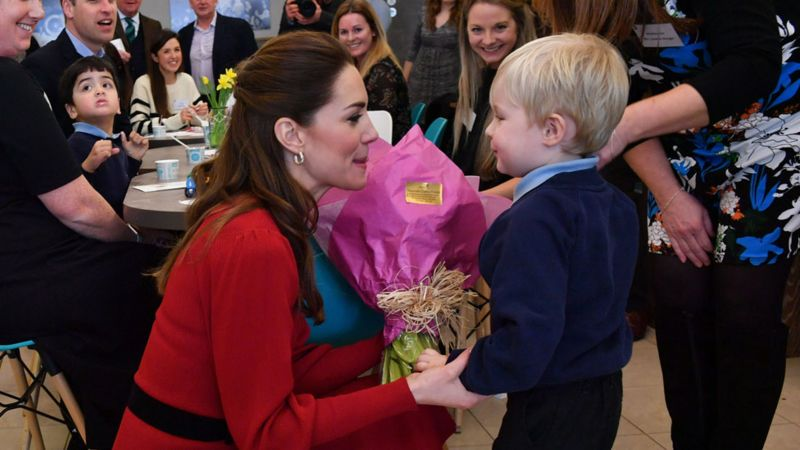 Duchess of Cambridge at Joe's Ice-Cream Parlour