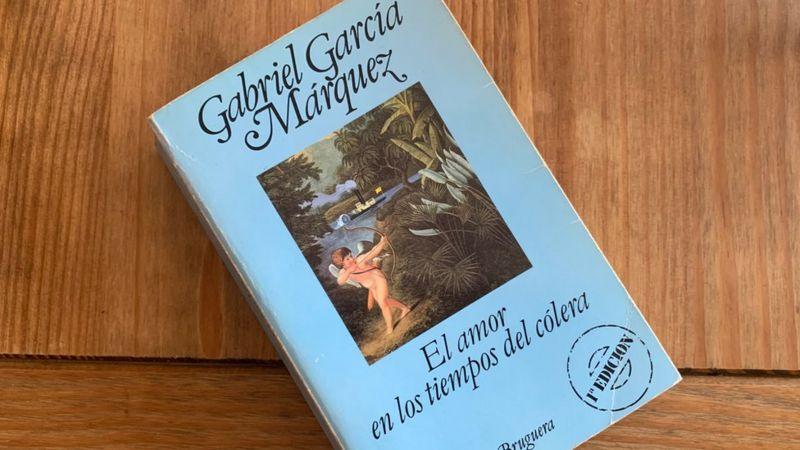 """El libro El amor en los tiempos del cólera"""""""
