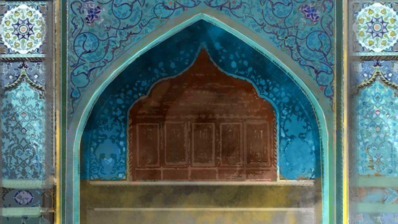 архитектурная деталь мечети
