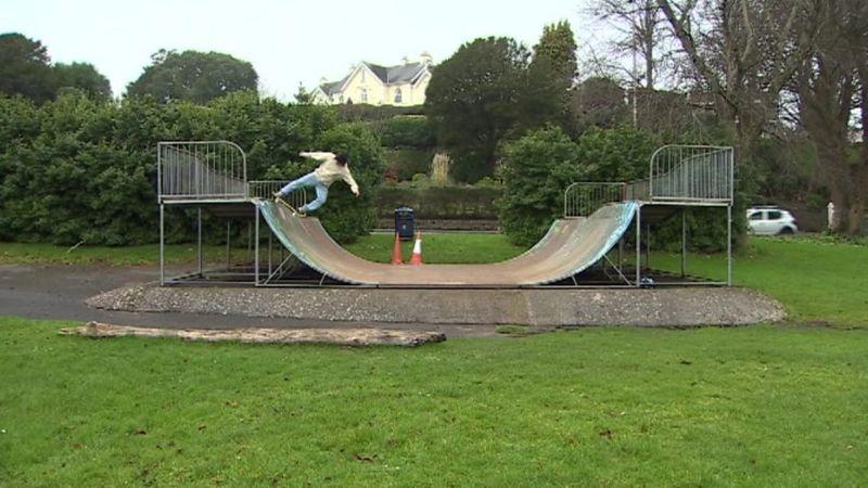 The current Mumbles skate park