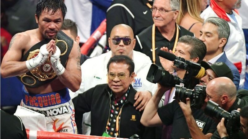 Boxing legend Manny Pacquiao swaps punching for payments (2020)