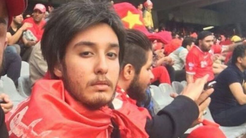 Iranian women attend football match for the first time in