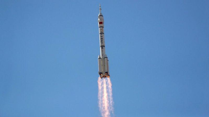 سه فضانورد چینی راهی ایستگاه فضایی این کشور شدند