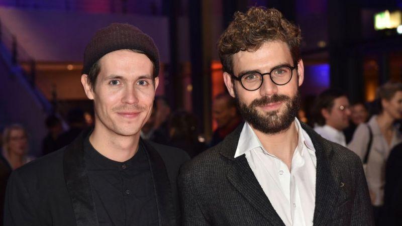 Hans Block y Moritz Riesewieck en noviembre