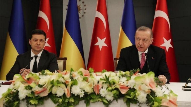 Erdoğan Ukrayna Devlet Başkanı Zelensky ile görüştü