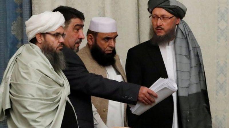 نمایندگان گروه طالبان در نشست مسکو شیرمحمد استانکزی، محمد سهیل شاهین، مولوی ضیا الرحمان مدنی، عبدالسلام حنفی و شهاب الدین دلاور از اعضای دفتر سیاسی این گروه در قطر هستند.