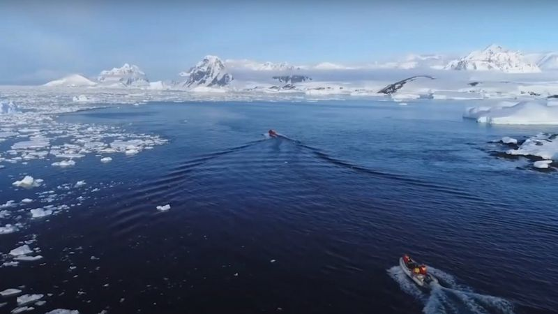 Postman - Antarktyda