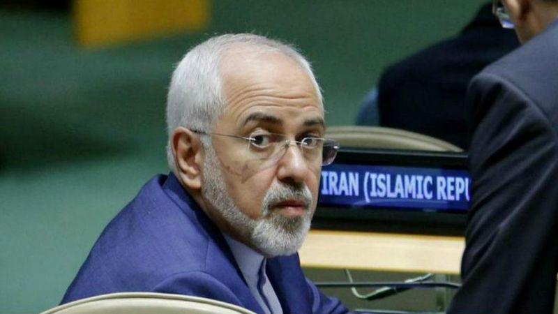 """وزیر خارجه ایران گفته """"آمریکاییها میخواهند ما را در حالت بیاطمینانی از آینده نگه دارند"""""""