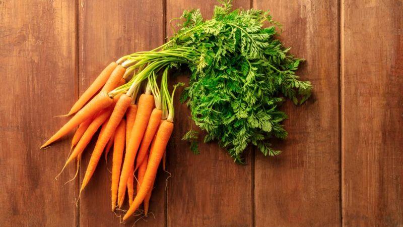 Морковь - чемпион по сохранению витамина С при комнатной температуре
