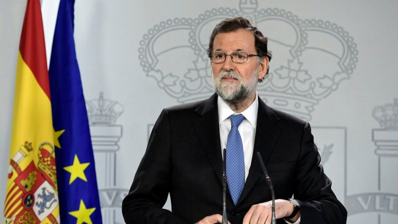 Spanish Prime Minister Mariano Rajoy said today his government had dissolved the Catalan parliament and called regional elections on December 21 under sweeping powers approved by the Senate to stop a secessionist movement in Catalonia.