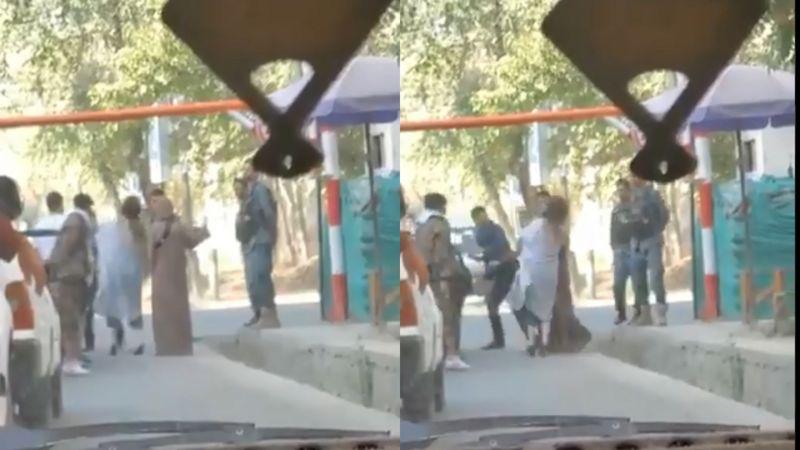 'عامل ضرب و شتم دو زن در خیابان کابل پس از پخش گسترده ویدیوی رویداد شناسایی شد'