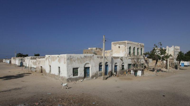 A building in Somalia