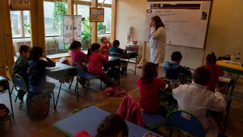 Escola no Uruguai