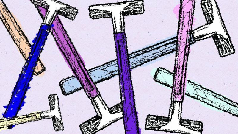 рисунок бритвы