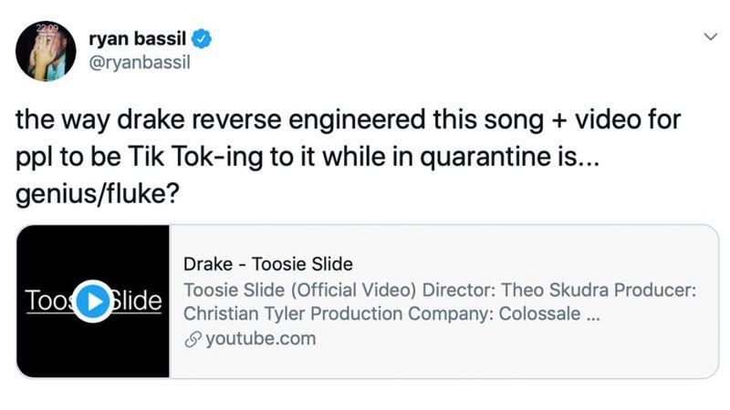 Screenshot of Ryan Bassil's tweet