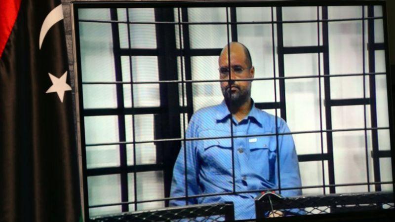 В 2015 году Сейф Каддафи по видеосвязи из Зинтана предстал перед ливийским судом и был приговорен к расстрелу
