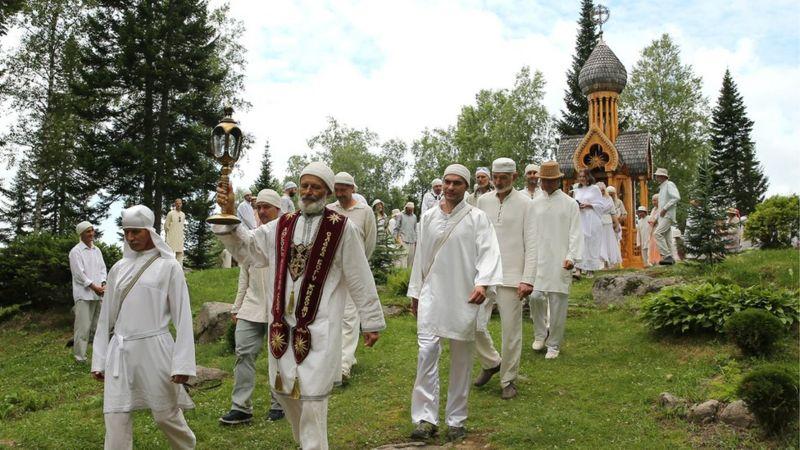 """Sekte sergei Torop sang """"titisan Tuhan"""" (foto: BBC via GETTY IMAGES)"""