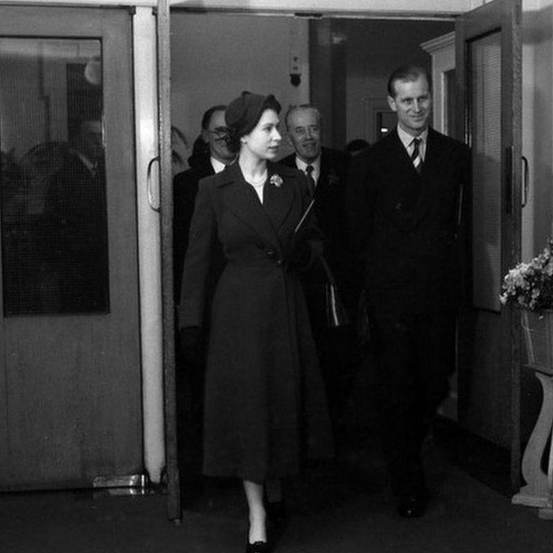 Принц Філіпп і Єлизавета ІІ
